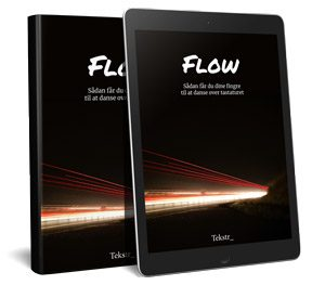 Hent pixi-e-bog om flow og skriveprocessen - det koster dig ik' en krone