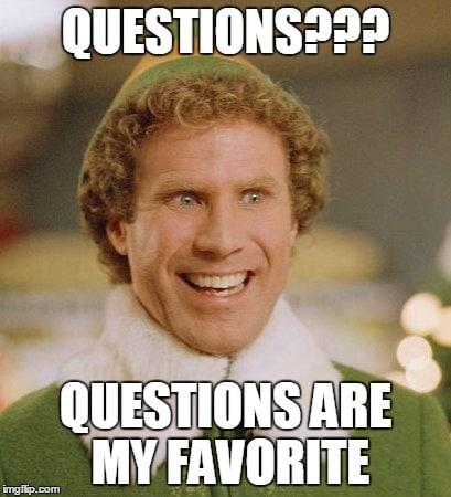 Alle copywriters elsker spørgsmål.