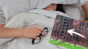 Midt på abstraktionsstigen - søvnig læser